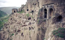 Vardzia cave monastery, Georgia Royalty Free Stock Photo