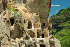 Vardzia cave monastery, Georgia Royalty Free Stock Photography