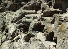 Vardzia cave monastery in Samtskhe-Javakheti region, near Akhalt Royalty Free Stock Photo