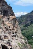 Vardzia Cave Town-Monastery. Vardzia Cave Town - Monastery, Georgia stock photo