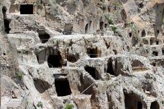 Vardzia Cave Town-Monastery. In Georgia stock photography