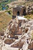 Vardzia jamy monaster obrazy royalty free