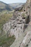Vardzia monastery in Georgia, Caucasus Stock Images