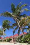 Vare el chalet lateral en St Jean Beach en St Barts Fotos de archivo