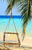Hamaca de la playa Imagenes de archivo