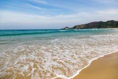 Vare el topo (topo del praia) en Florianopolis, Santa Catarina, el Brasil Fotos de archivo