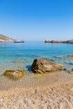Vare en el mar adriático en la isla de Hvar Fotos de archivo libres de regalías