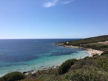 Vare en la isla de San Pedro, Cerdeña - Italia foto de archivo libre de regalías