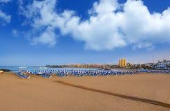 Vare los vistas de Las en Adeje Arona en el sur de Tenerife Fotografía de archivo