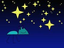 Varelse vid natt Royaltyfri Fotografi