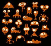 varelser royaltyfri illustrationer