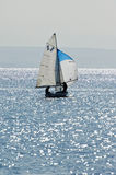 Varend jacht Royalty-vrije Stock Foto