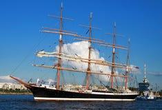 Varend schip 02 Stock Foto's