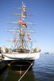 Varend schip. Royalty-vrije Stock Fotografie