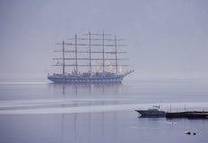 Varend schip Stock Foto