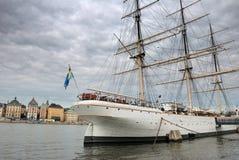 Varend schip. Royalty-vrije Stock Foto's
