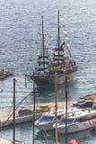 varend schip Royalty-vrije Stock Foto