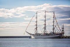 Varend schip Stock Foto's