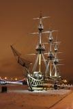 Varend schip Royalty-vrije Stock Foto's