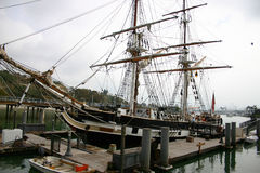 Varend schip royalty-vrije stock fotografie