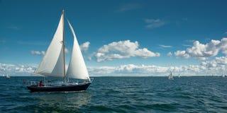 Varende boot Royalty-vrije Stock Afbeelding
