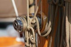 Varende boot Stock Foto