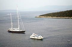 Varende boot in Bodrum Royalty-vrije Stock Fotografie
