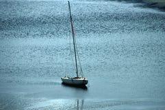 Varende boot onbeweeglijk royalty-vrije stock foto