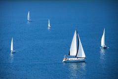 Varende boten Royalty-vrije Stock Fotografie