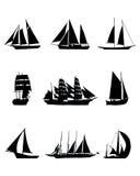 Varende boten Stock Fotografie
