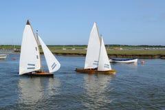 Varende boten Royalty-vrije Stock Afbeeldingen