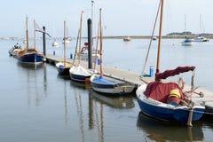 Varende boten Royalty-vrije Stock Foto
