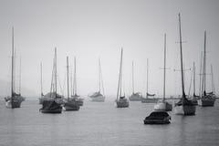Varende boten Royalty-vrije Stock Afbeelding