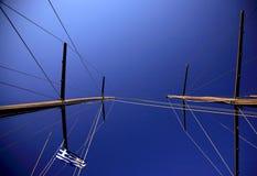 Varende masten Royalty-vrije Stock Fotografie