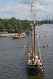 Varende schepen Royalty-vrije Stock Afbeelding