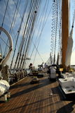 Varende schepen Stock Foto's