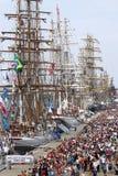 Varende schepen Royalty-vrije Stock Foto