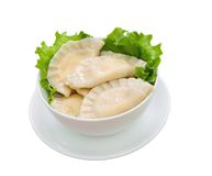 Vareniks .dumplings Royalty Free Stock Images