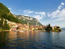 Varenna, ένα όμορφο χωριό στις ακτές της λίμνης Como, Ιταλία Στοκ φωτογραφία με δικαίωμα ελεύθερης χρήσης