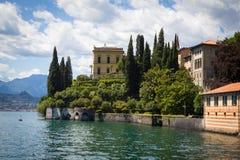 Varenna в озере Como, Италии Стоковая Фотография RF