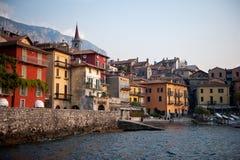 varenna Италии стоковая фотография rf