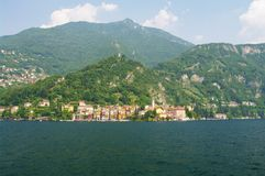 Varenna. By the como lake in italy Royalty Free Stock Image