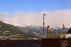 Varenna in Italië Royalty-vrije Stock Afbeeldingen