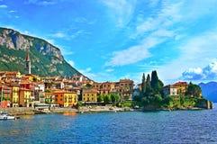 Varenna, Italië Stock Foto