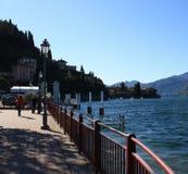 Varenna in Italien Lizenzfreies Stockfoto