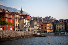 Varenna, Italy. The beautiful ancient fishing village of Varenna, Italy on Lake Como in northern Italy royalty free stock photography