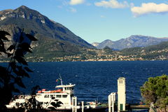 Varenna, Italy stock photography