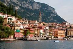 Varenna, lac Como Photographie stock libre de droits