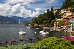Varenna at lake Como in Italy Stock Photography