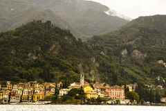 Varenna from Lake Como, Italy Stock Photos